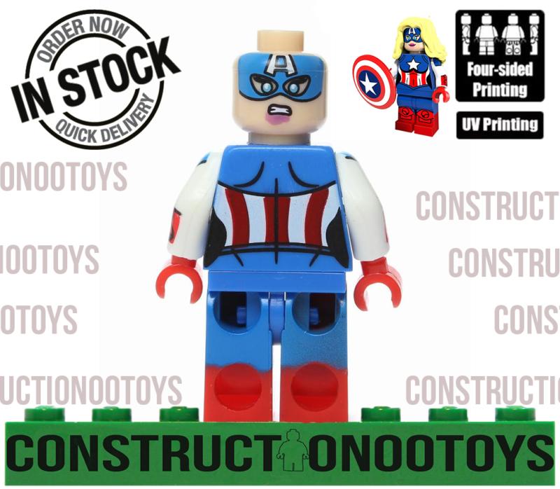 Killer Frost lego Custom PAD UV PRINTED Minifigure