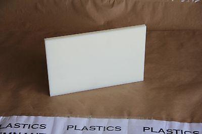 "1//2/"" Peek Sheet Polytheretherketone 1//2/""x1.75/""x10.5/"" Cnc Plastic 8401"
