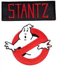 Ghostbusters  + STANTZ - Uniform Kostüm Patch  -  Aufnäher  Set neu