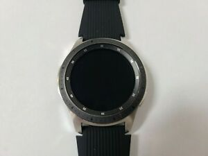 Samsung Galaxy Watch SM-R800 46mm Silver Case/Black Band - Excellent Condition