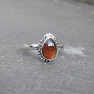 Garnet-Solid-925-Sterling-Silver-Anxiety-Ring-Meditation-Ring-SR034