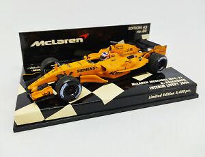MINICHAMPS 1/43 McLaren Mercedes MP4-21 Raikkonen Interim Livery 2006 530064373