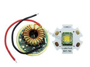 Luminus Sst 50 Led 1300lm 20mm 5 Mode Led Driver Board