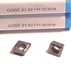 CPGT 21.52 FH VC919 VALENITE INSERT