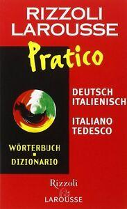 Dizionario-Larousse-Pratico-Deutsch-Rizzoli-Larousse-Libro-nuovo
