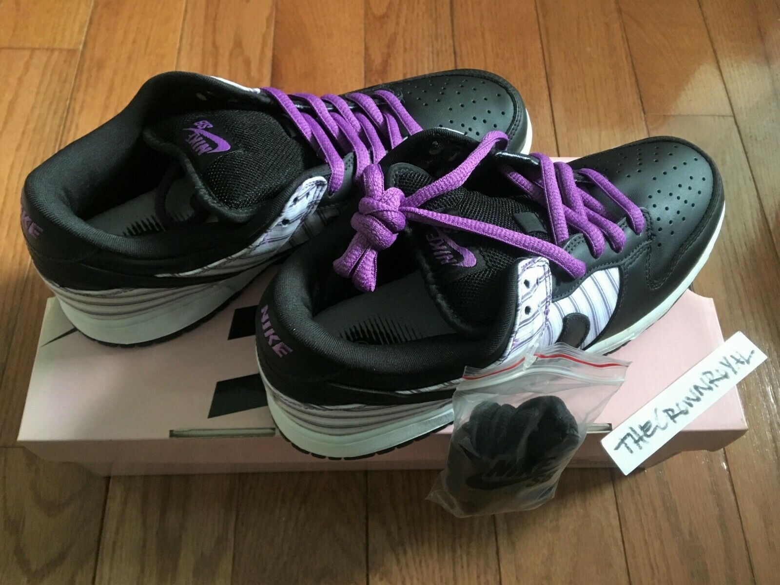 2005 DS Nike Dunk SB Low Purple Avenger 8 Stussy Diamond Unkle Supreme 7 Canary