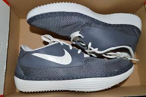 New Nike Mens Solarsoft Moc 2 Mocassin Casual Shoes 705518-090 sz 8 Dark Grey