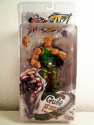 Street Fighter 4 Guile Neca Serie 2