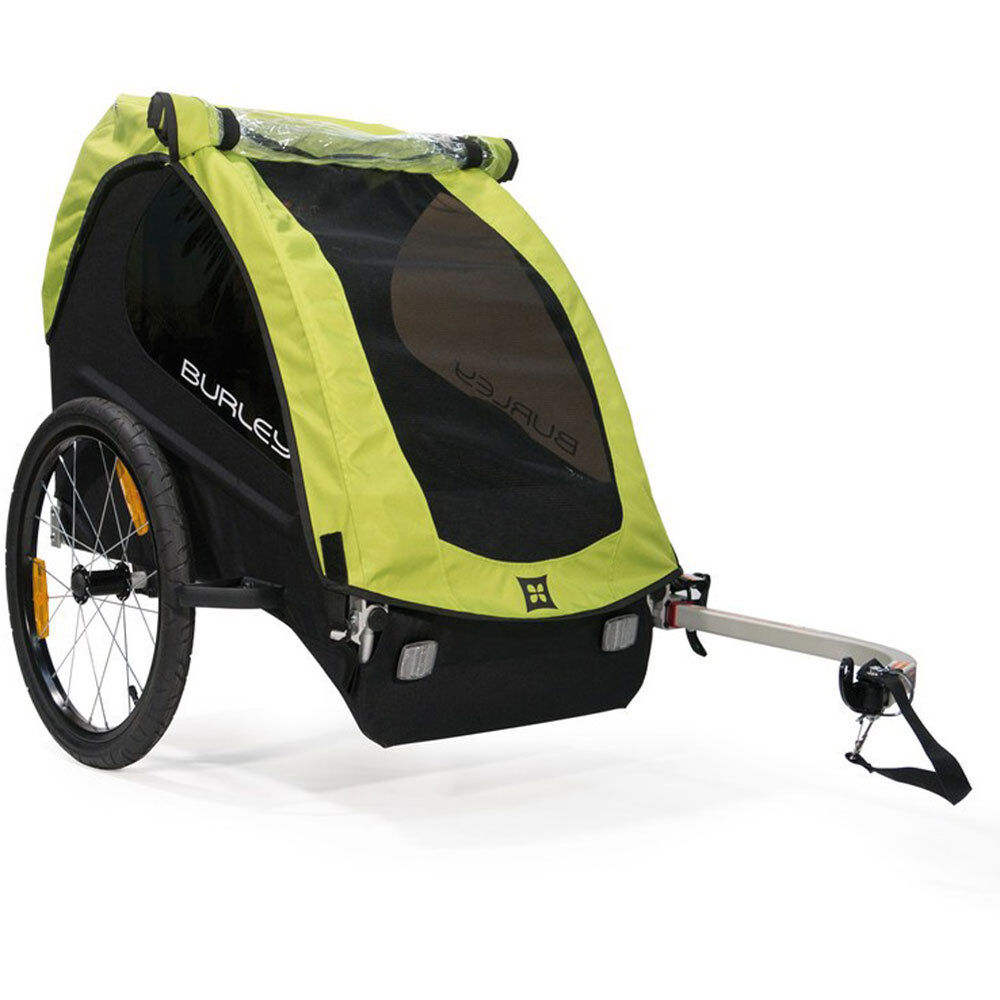 Burley Vélo-Enfants-Remorque MINNOW Modèle 2018 pur radanhänger vert