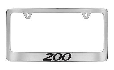 Chrysler SRT-8 2012-16 Chrome Plated Brass Metal License Plate Frame Holder