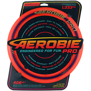 NG - AEROBIE PRO Frisbee Wurfring ORANGE 33cm - SPAREN mit Kombiversand