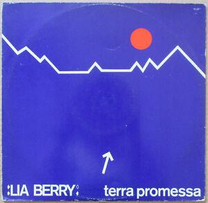 LIA-BERRY-Terra-Promessa-1989-ITALO-DISCO-VG-Eros-Ramazzotti-Maxi-Singolo
