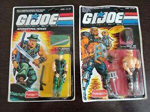 G-I-JOE-FUNSKOOL-International-Heroes-Lot-of-2-Hasbro-Action-Figures