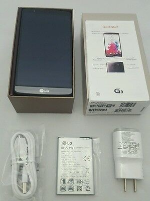 New LG G3 D850 - 32GB - Metallic Black (AT&T) Unlocked Smartphone