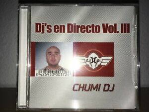 Dj's En Directo Vol.lll 3 . Chumi Dj . Solo Cd 2 - España - Dj's En Directo Vol.lll 3 . Chumi Dj . Solo Cd 2 - España