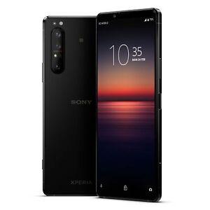 Sony-Xperia-1-II-Smartphone-256GB-Schwarz-Neu-vom-Haendler-OVP-Ohne-SIMLOCK