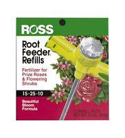 Ross Rose/flowering Shrub Root Feeder Refills 12-pack 13450, New, Free Shipping