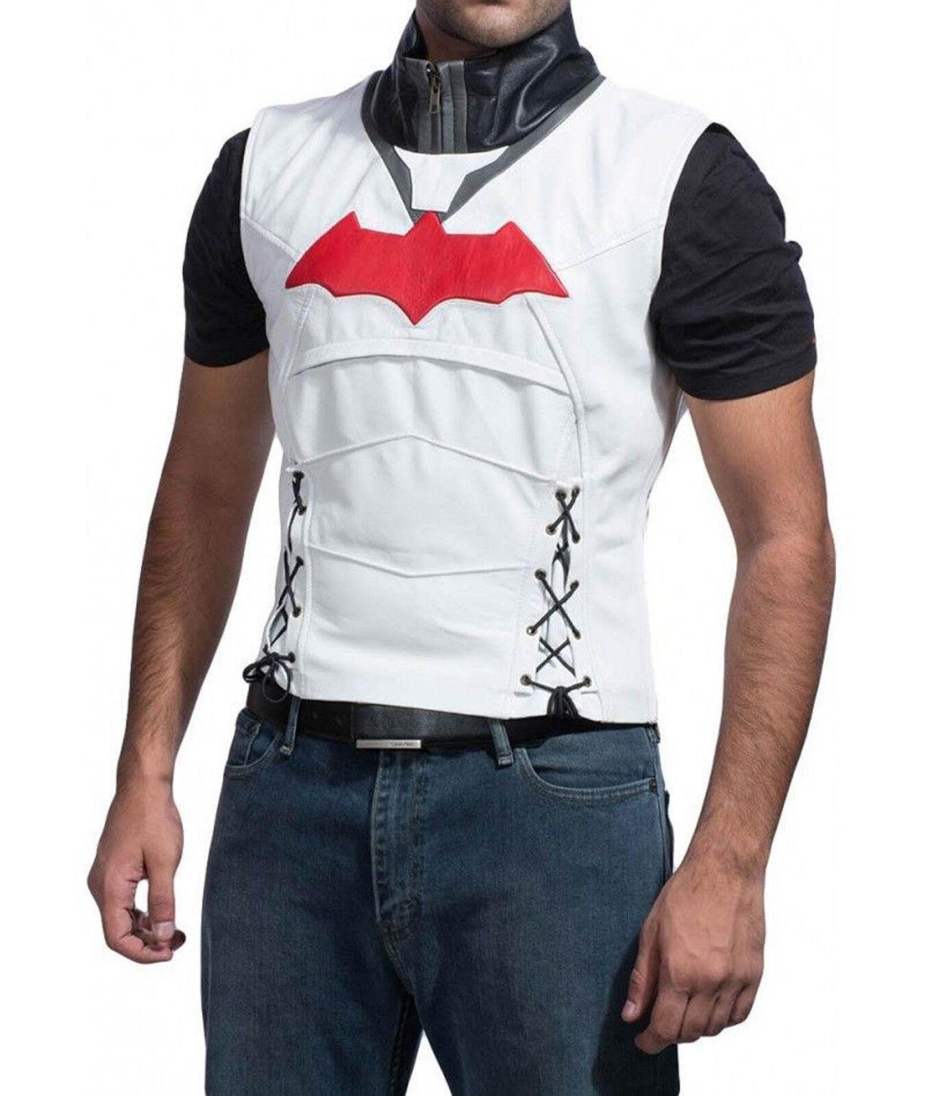 ROT hood batman arkham knight 100% real Leder Vest