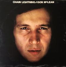 DON MCLEAN - Chain Lightning (LP) (EX-/G++)