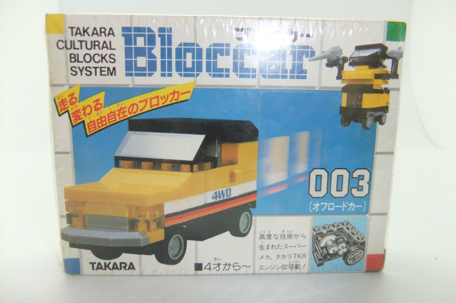 1980 Transformers Takara Bloccar 003 Misb Vintage