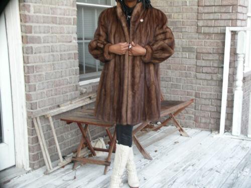 Coat m Mink Designer Brown Dark Fur 10 Custom Bolero Jacket Elegant S nvqwZYxfw