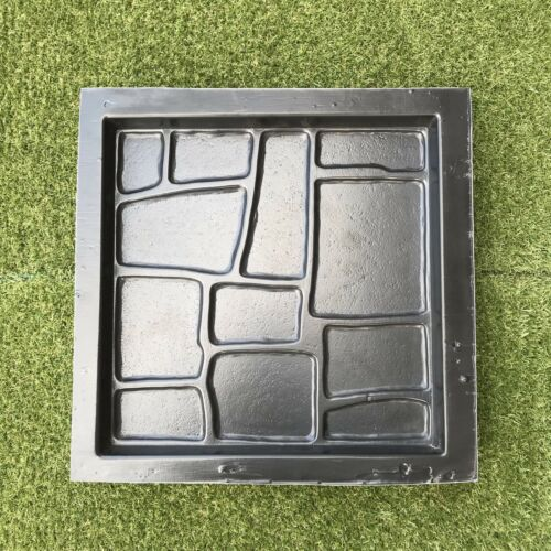 LVIV Plastic MOLD for Concrete Garden Stepping Stone Path Patio MOULDS CEMENT