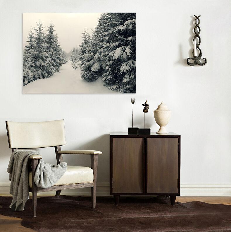 3D Schnee baum 513 Fototapeten Wandbild BildTapete AJSTORE DE Lemon