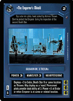 Star Wars CCG Death Star II Flagship Operations NrMint-MINT SWCCG