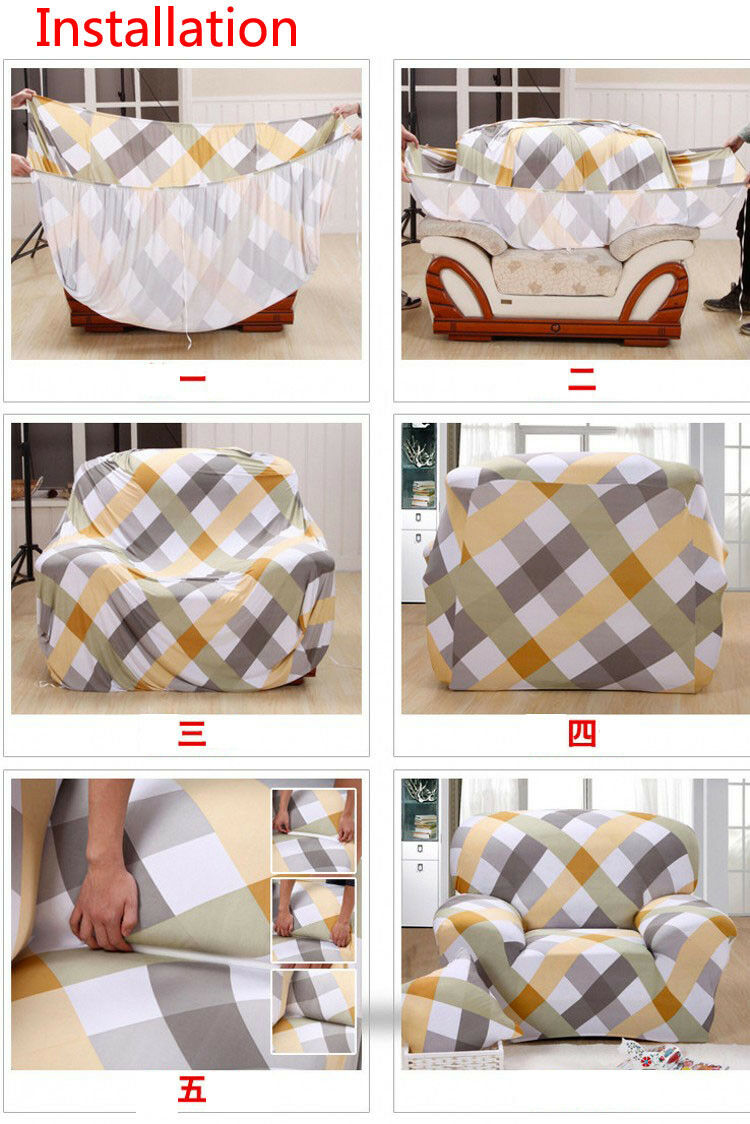 Universal Slipcover 1 Seater Couch Protector