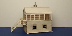 7 mm medium signal box interior O gauge LCC I 70-00