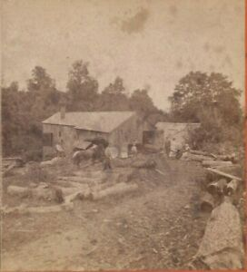 1880s WATERBURY CT., ALFRED A. ADT, SAW WOOD MILL