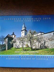 "slovaquie coffret bu 2010 ""turiec"""