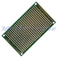 Drilled Double sided Copper Prototype PCB Matrix Epoxy Glass Fibre Board 50x70mm
