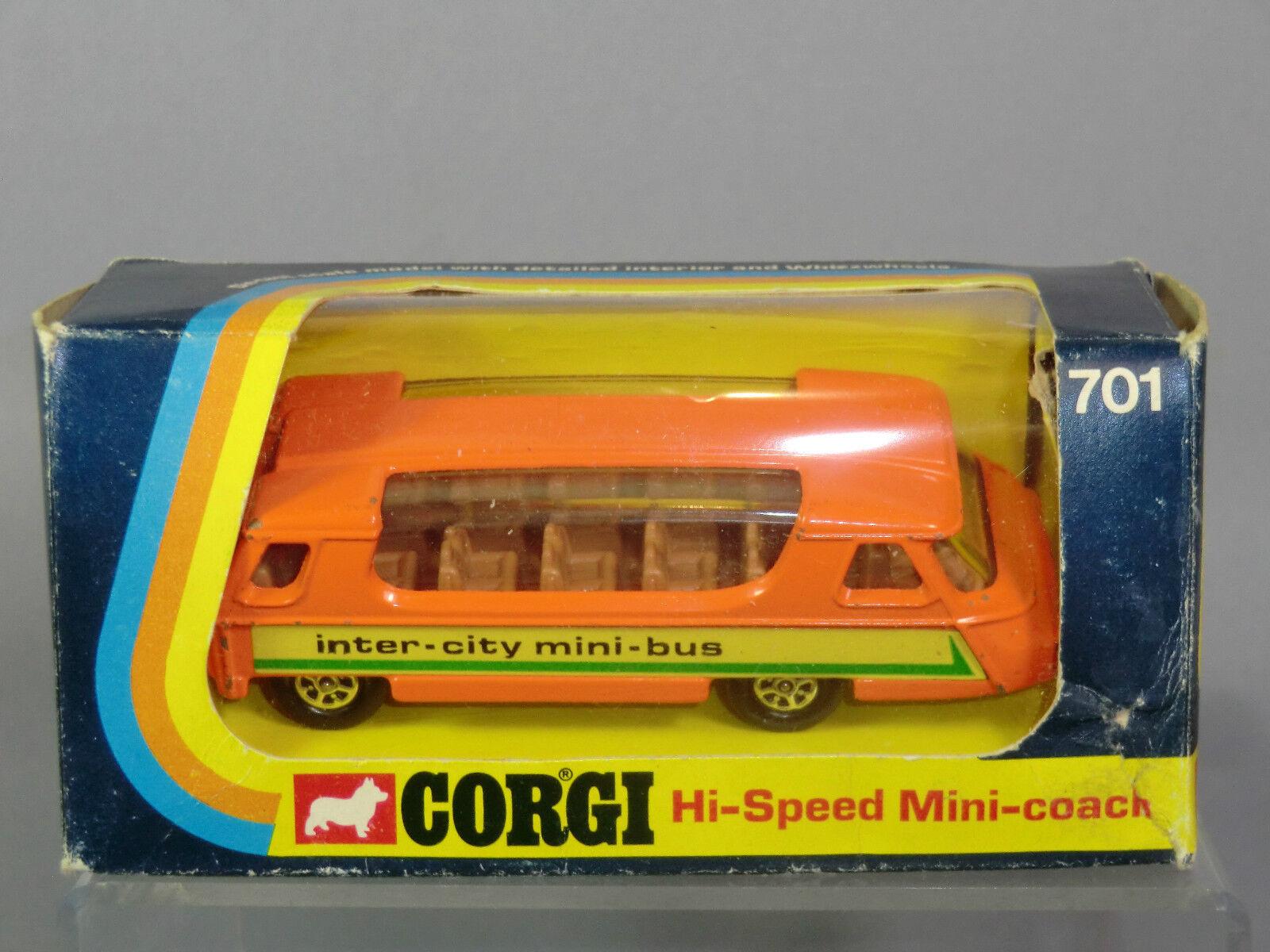 Corgi Corgi Corgi Toys Modelo No.701  Alta velocidad  Mini entrenador VN MIB 4aa06d