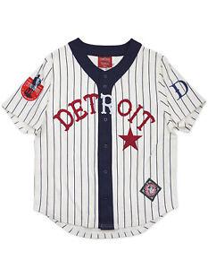 DETROIT-STARS-NEGRO-LEAGUE-BASEBALL-JERSEY-Vintage-collection-Jersey