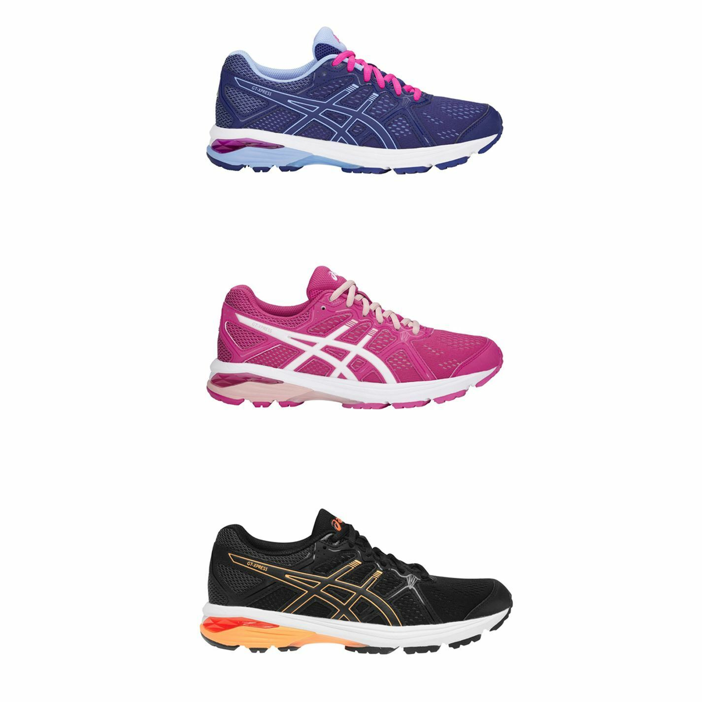 Asiacs GT Xpress Laufen schuhe daSie Jogging Trainer Turnschuhe Fitness