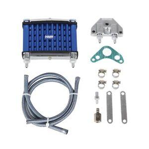 hmparts-Moto-Bici-DEL-HOYO-ATV-Performance-Radiador-aceite-Conjunto-Azul