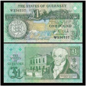 Guernsey-1-Pound-1991-UNC-P-781130