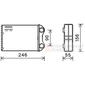 Intercambiador-de-calor-interior-calefaccion-Van-Wezel-06006426