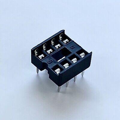 20x DIP-8 IC OP Amp Sockets 8 Pin PCB Connecteur