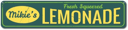 Fresh Squeezed Lemonade Sign Personalized Lemonade Stand Sign ENSA1001240