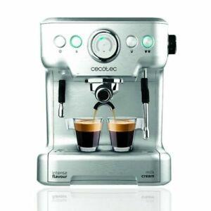 Cecotec Cafetera express Power Espresso 20 Barista Pro / espressos y cappuccinos