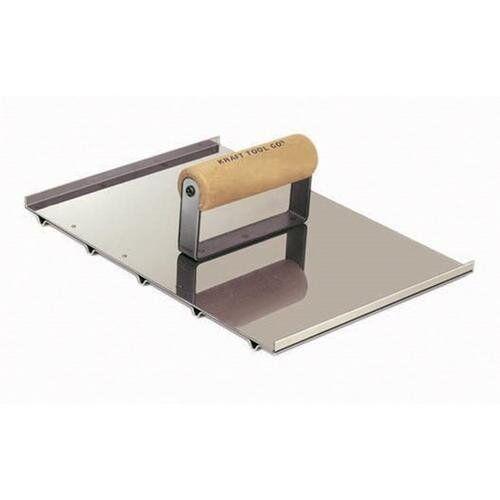 "Kraft Tool Wheelchair Concrete Groover 8/"" x 10 1//2/"" x 1//4/"" Deep"