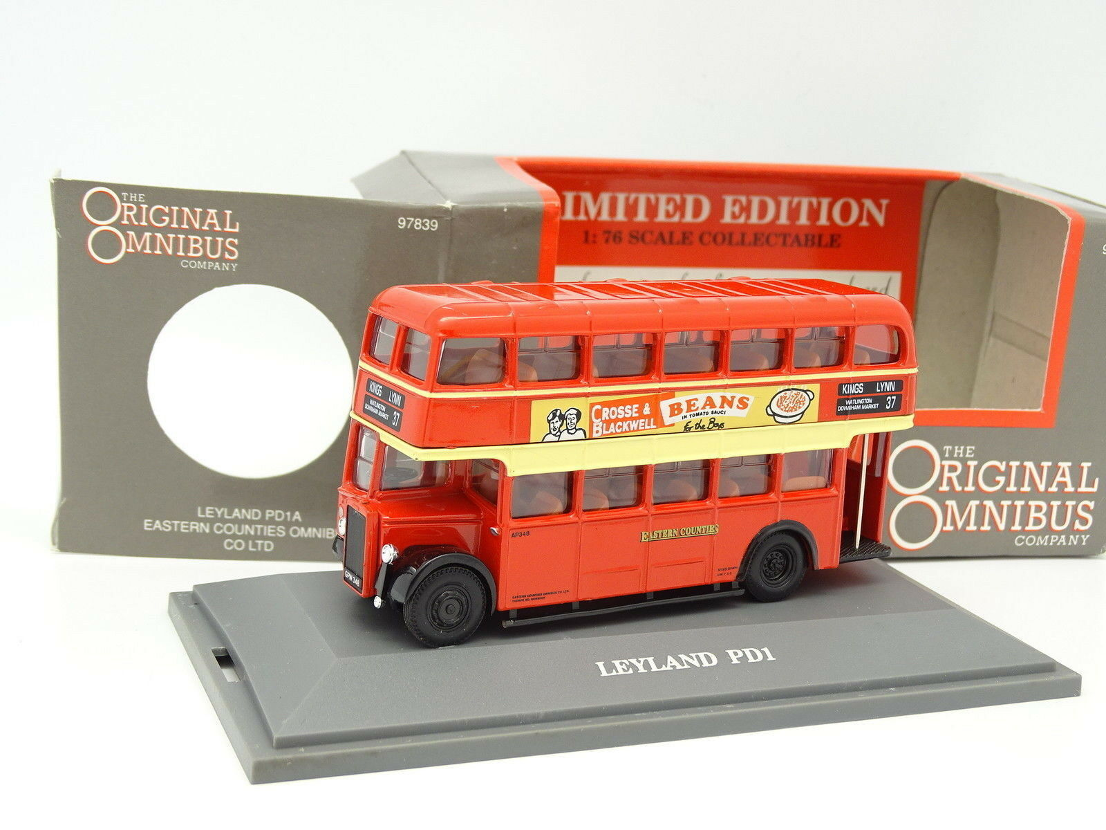 Corgi 1 76 - Bus Bus Leyland PD1A Eastern Counties Omnibus Co Ltd