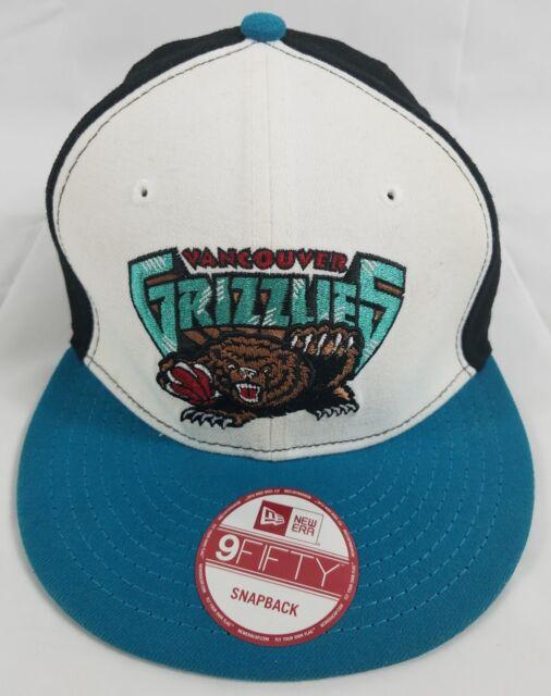 Vancouver Grizzlies New Era 9Fifty NBA Basketball Hat Snapback Cap vtg 6b9faac7f17