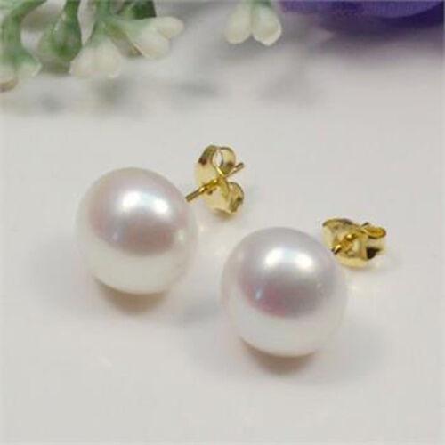 Lady New Jewelry Freshwater Pearl Earrings Stud Party Ladies New Stud Earring
