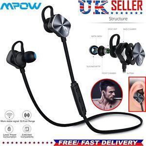 2e34bca9ed2 Image is loading Mpow-Wolverine-Wireless-Bluetooth-4-1-Sport-Headphones-