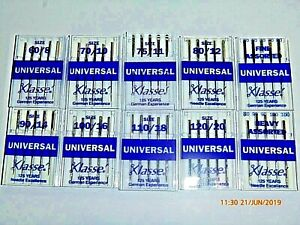 5-Klasse-Assorted-Universal-Domestic-Sewing-Machine-Needles-Janome-Singer-Elna