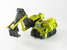 Transformers Armada Hoist G2 Yellow Scavenger Devastator Custom Poor Paint