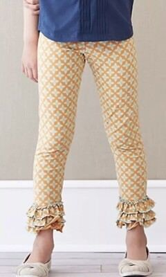 New Matilda Jane Secret Fields BONNY BOUQUET Floral LEGGINGS Size 10 Tween NWT